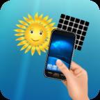 Cargador Luz Solar broma