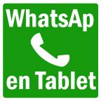 WhatsAp para tablet