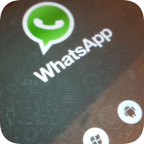 Whatsapp on tablet