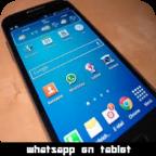 instalar watsapp en la tablet