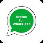 Status for Whatsapps