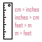 Distance conversion tables