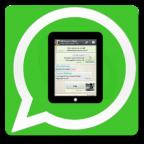 Whatsapp on tablet 2 (copy) (copy)