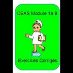 DEAS exercices corrigés module 1 à 8