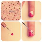 Nail art tutorial step by step