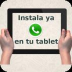 Instalar Whatsapp en tablets