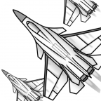 Draw Aircrafts: Jet