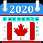 Canadá Calendar 2020