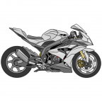 Draw Motorcycles: Sport