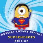 NURSERY RHYMES VIDEOS OFFLINE SUPERHERO