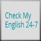 Check My English 24-7