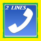 2 lineas para Whatsapp