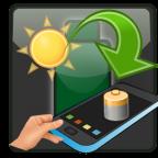 movil cargador bateria sol