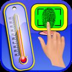 Huella termometro fiebre